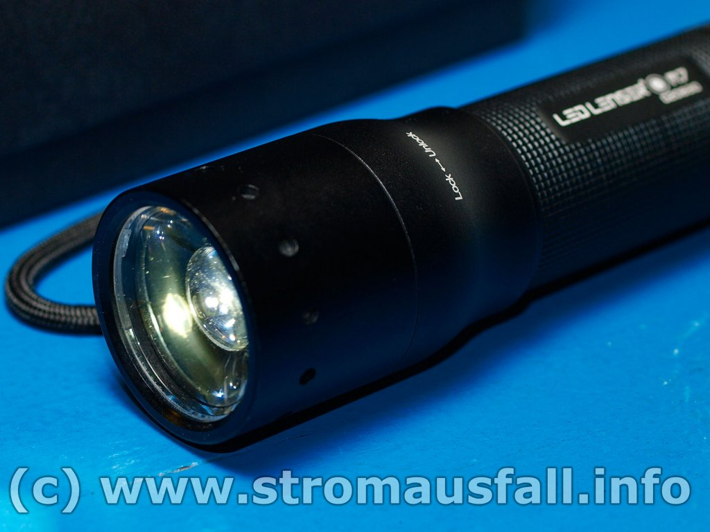test taschenlampe led lenser m7. Black Bedroom Furniture Sets. Home Design Ideas